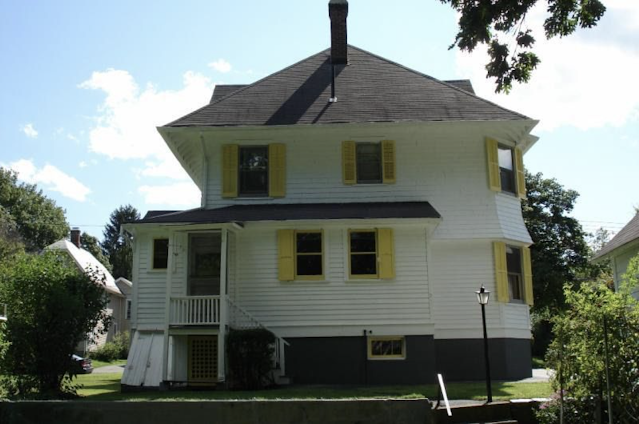 rear view of 3 Elm St Newton NJ Authenticated Sears No 163 of Reuben Talmage