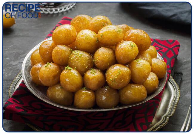 Zalabya - Egyptian Sweet | Zalabia Balls Recipe | Vegan Donuts