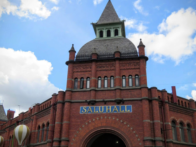 One Day in Stockholm: Lunch at Östermalms Saluhall