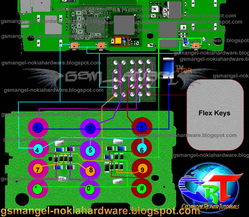 Nokia 1280 Schematic Diagram Download  skyleo