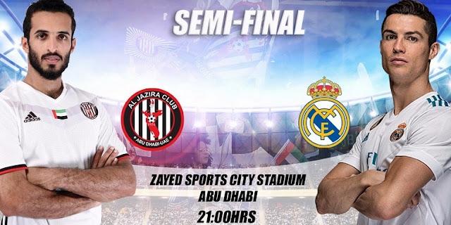 تردد قناة ابو ظبي المجانية الناقلة لمباراة ريال مدريد والجزيرة الامارتي في كأس العالم للأندية 2017