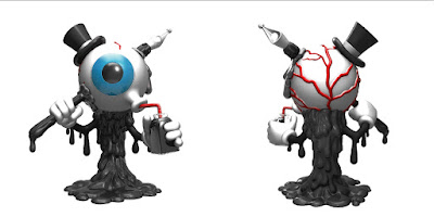 Inkball Resin Figure by MAD x Pobber