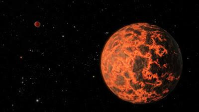 K2-141b: el exoplaneta infernal con atmósfera de rocas y océanos de lava