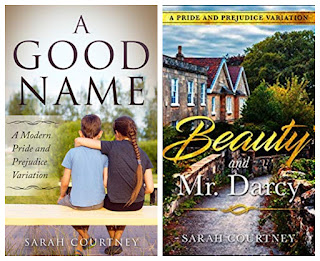 Book covers of Sarah Courtney's Austenesque Reads
