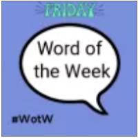 Word of the week linky badge