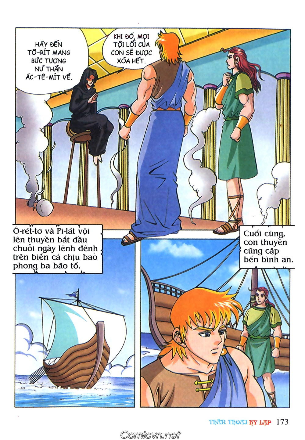 Thần Thoại Hy Lạp Màu - Chapter 71: Nàng Ê lếch tơ 2 - Pic 24