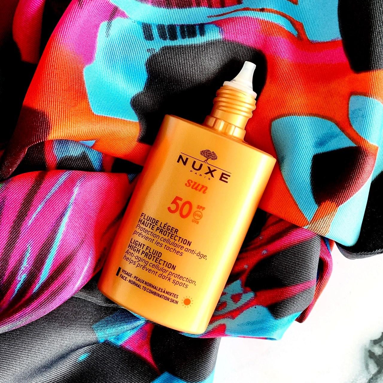 Nuxe Sun Lekki fluid o wysokiej ochronie SPF50