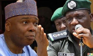 Saraki and Police IG Idris