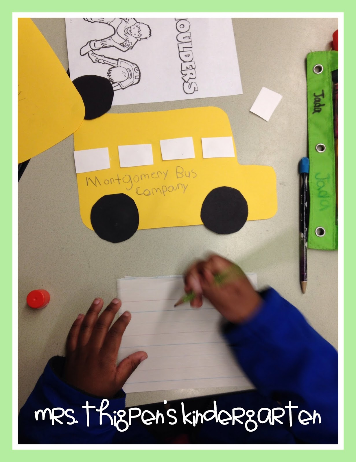 Mrs Thigpen S Kindergarten Rosa Parks Ruby Bridges