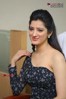Telugu Actress Richa Panai Stills in One Shoulder Floral Long Dress at Rakshaka Bhatudu Movie Interview  0170.JPG