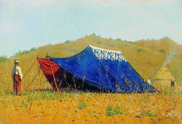 Василий Васильевич Верещагин - Китайская палатка. 1869-1870