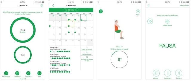 Las siete aplicaciones móviles que te ayudarán a ponerte en forma este nuevo año