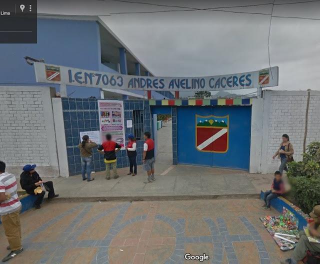 Escuela 7063 ANDRES AVELINO CACERES - SAN JUAN DE MIRAFLORES