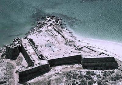 Vista Aérea del Castillo de Araya