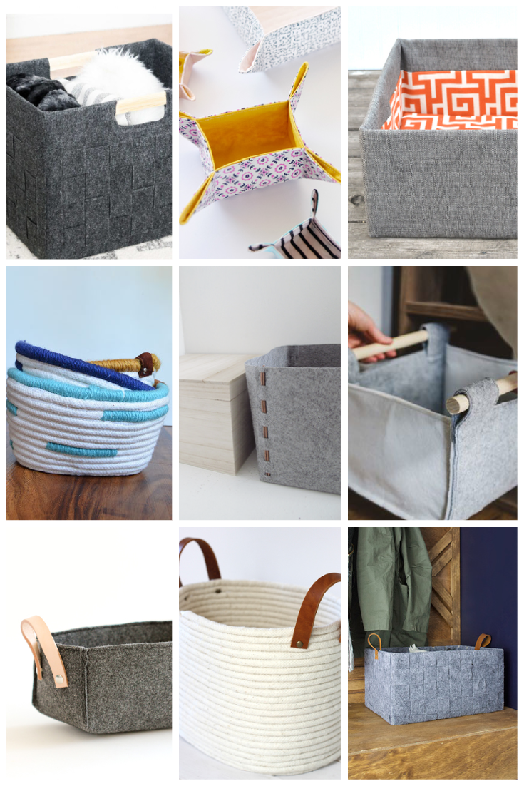 modern diy storage boxes