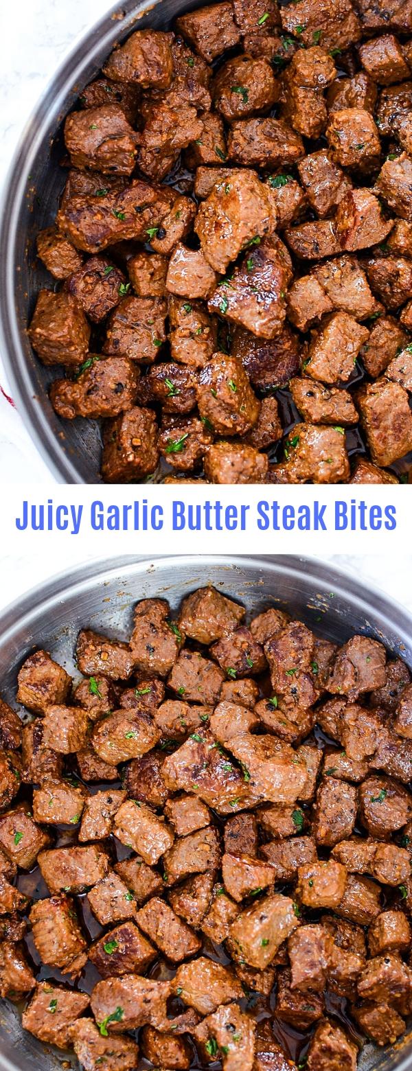 Juicy Garlic Butter Steak Bites
