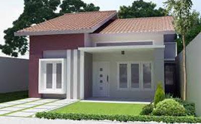 bentuk model rumah sederhana di pedesaan