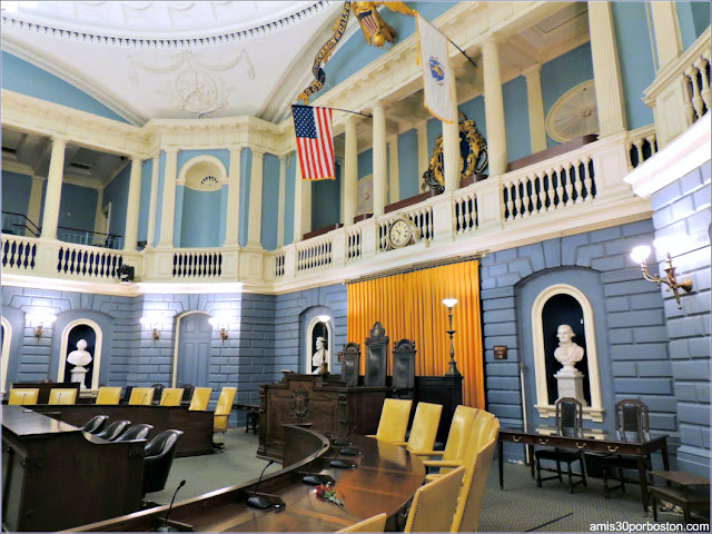 Cámara del Senado del Massachusetts State House