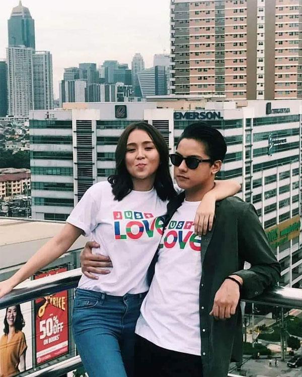 Photos: Kathryn Bernardo and Daniel Padilla in ABS-CBN Christmas Station ID