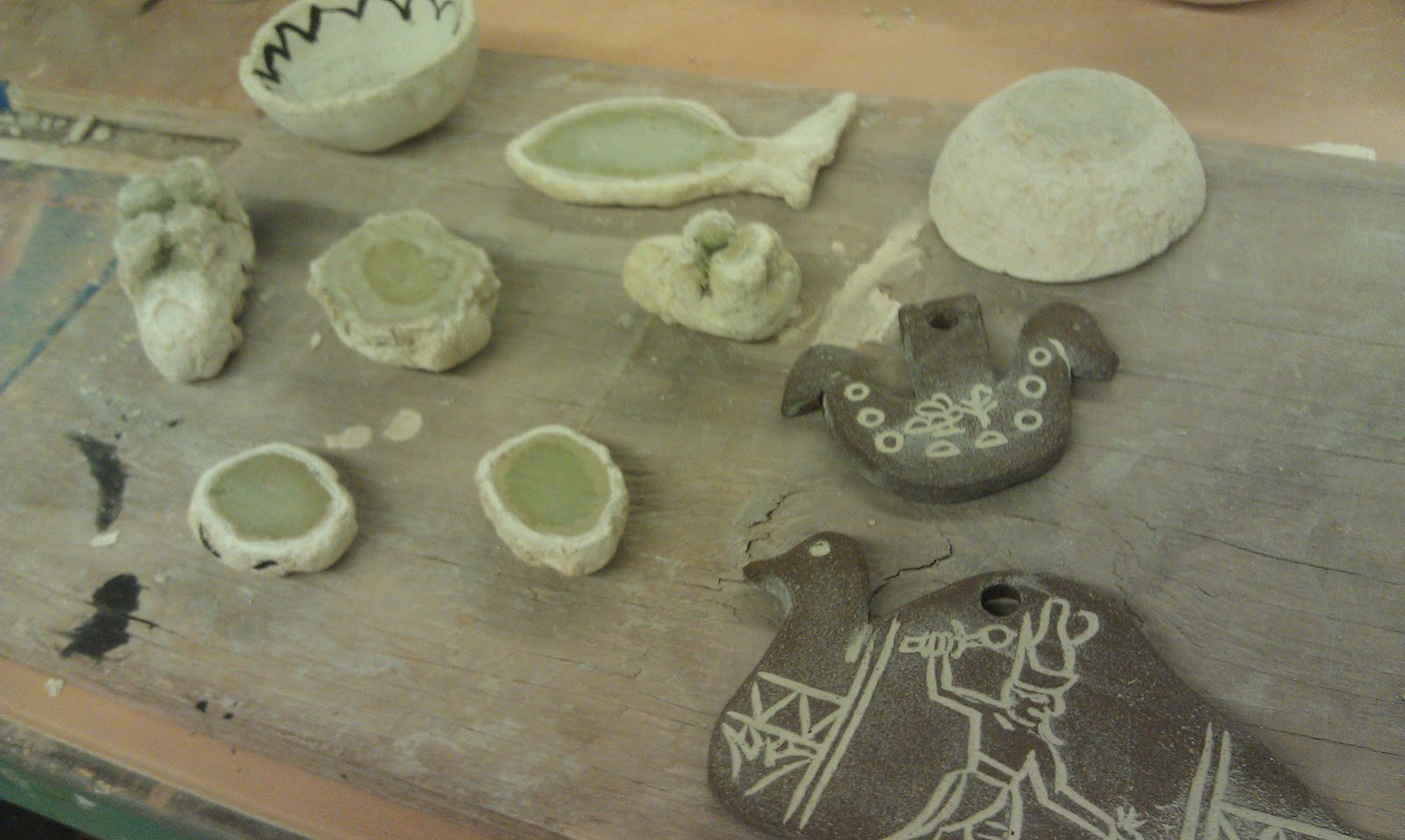 Playing With Clay Egyptian Paste