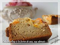 cake moelleux farine de coco