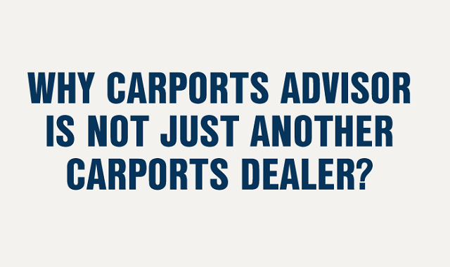 Carport Advisors over Metal Building Dealers
