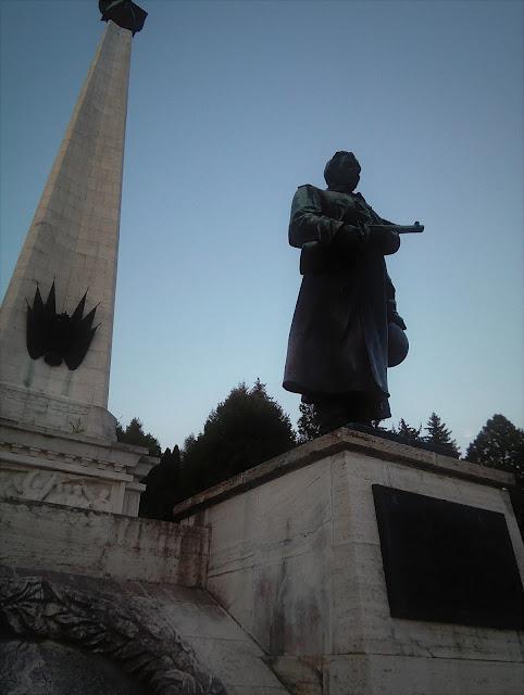 Svidnik, Slovakia, tehe monument