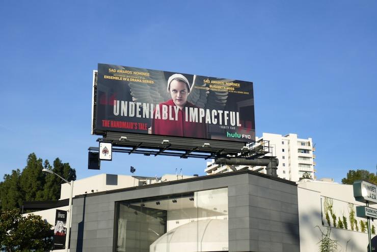 Handmaids Tale season 3 SAG Award nominee billboard