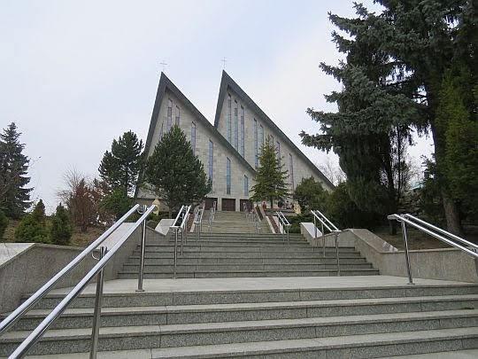 Sanktuarium Matki Bożej Pocieszenia w Pasierbcu.
