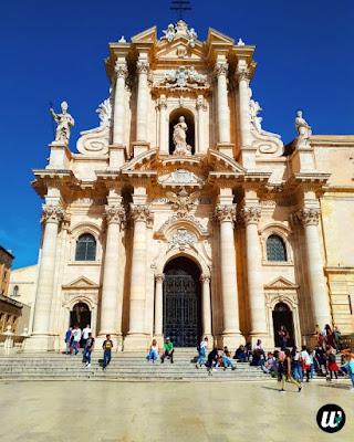 The Cathedral of Syracuse (Duomo di Siracusa), Ortigia | Sicily, Italy | wayamaya