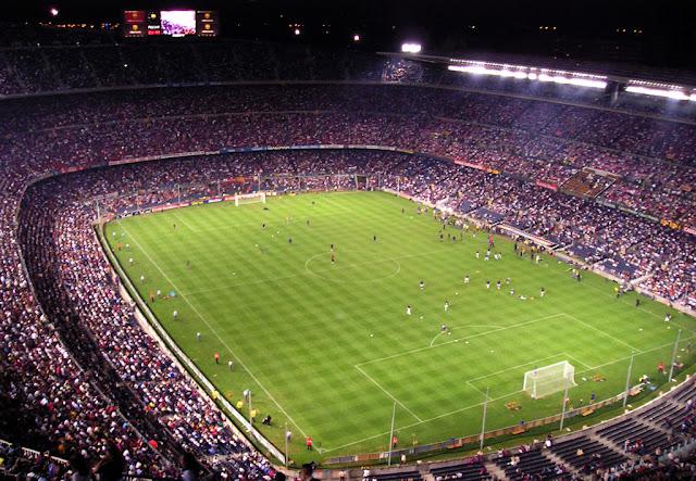 Stadion Camp Nou - Spayol