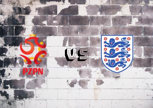 Polonia vs Inglaterra  Resumen y Partido Completo