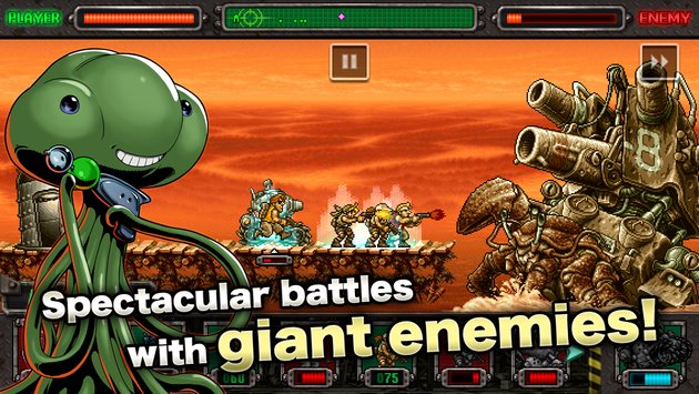 Free Download Game Metal Slug Defense V1.46 MOD Apk Terbaru