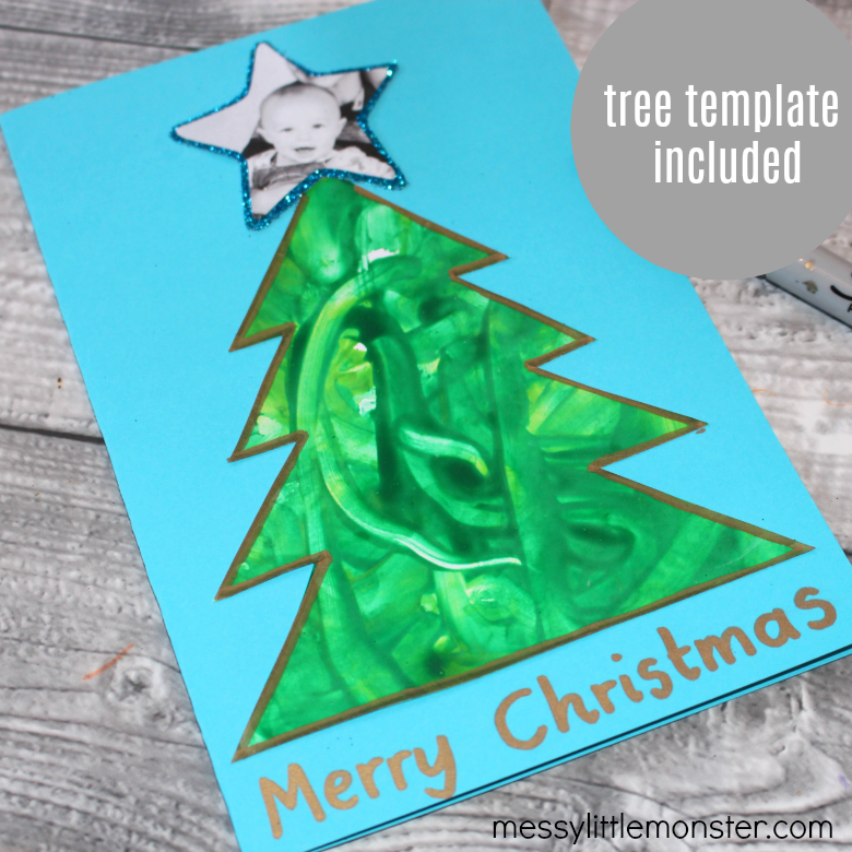 Christmas Tree Craft for Babies First Christmas