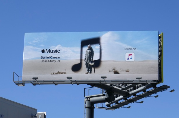 Daniel Caesar Case Study 01 Apple Music billboard
