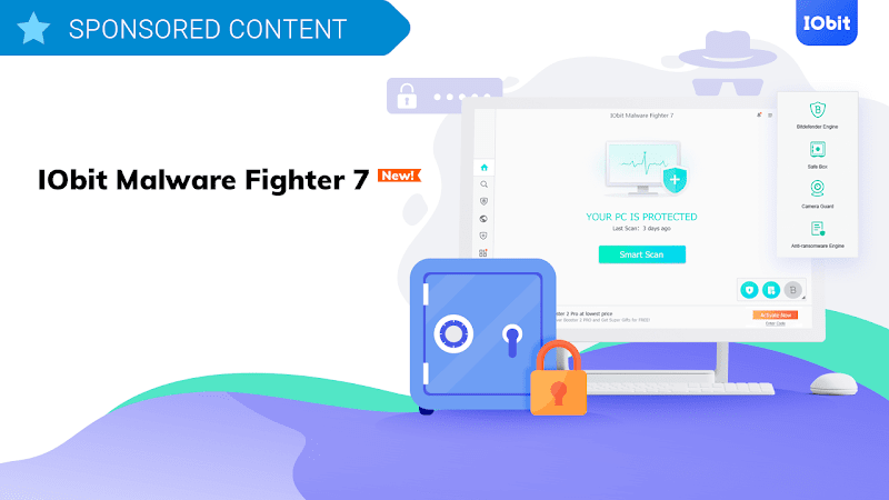 IObit Malware Fighter PRO 7 - License Key 2019 | IObit Malware Fighter PRO 7 key | #rsrajpro