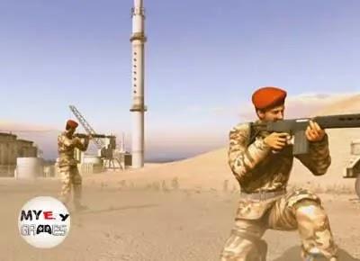 أحداث وقصة تحميل لعبة عاصفة الصحراء 5 Conflict Denied Ops
