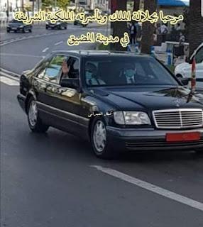 فيديو : جلالة الملك محمد السادس حفظه ورعاه  يحل بتطوان لقضاء عطلته الصيفية
