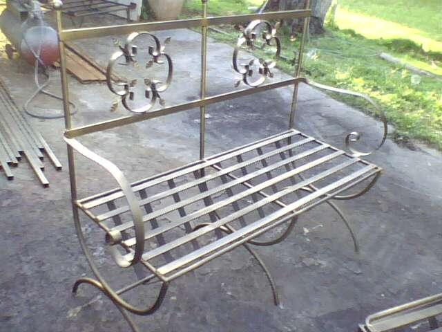 Ideas en hierro forjado sillas en hierro forjado for Modelos de sillas de hierro