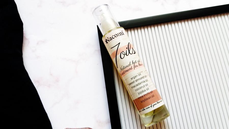 Nacomi • 7 oils, Naturalna maska do olejowania włosów