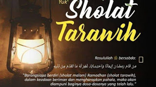 Shalat Tarawih 20 Rakaat