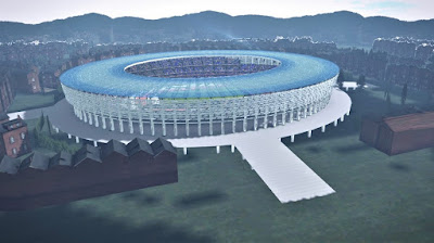 PES 2017 Baku Olympic Stadium Azerbaijan