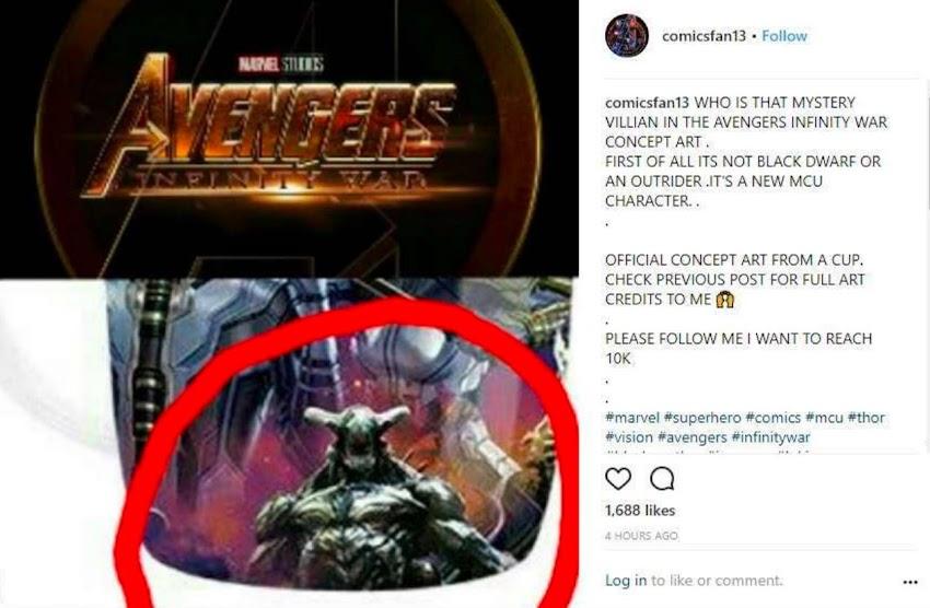 Avengers Infinity War: un misterioso villain nel nuovo merchandise!