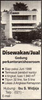 Gedung Datascrip, Volkswagen Kemayoran