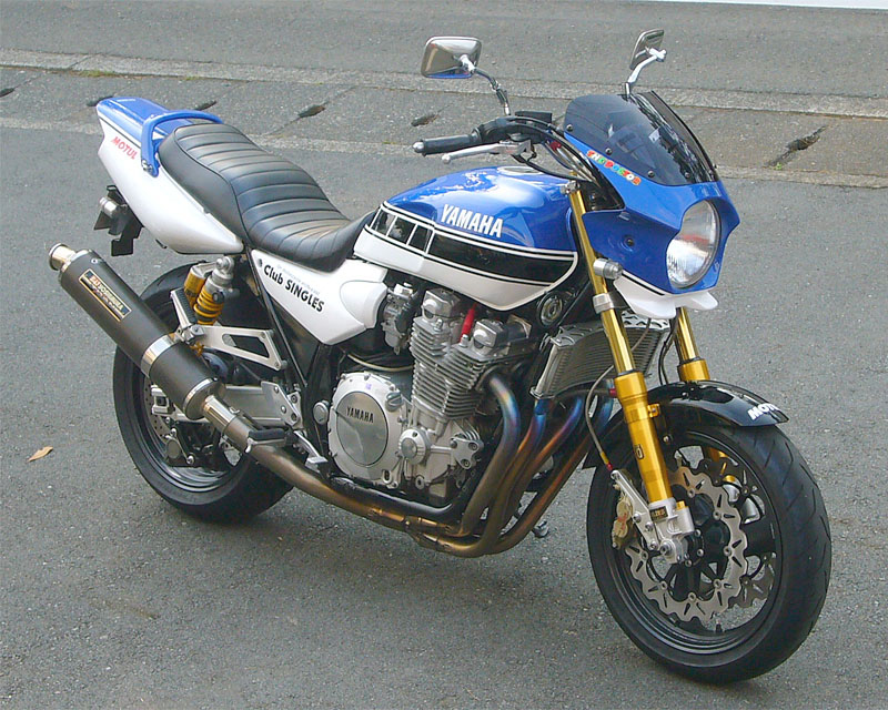 Planet Japan Blog  Yamaha Xjr 1300 By Club Singles