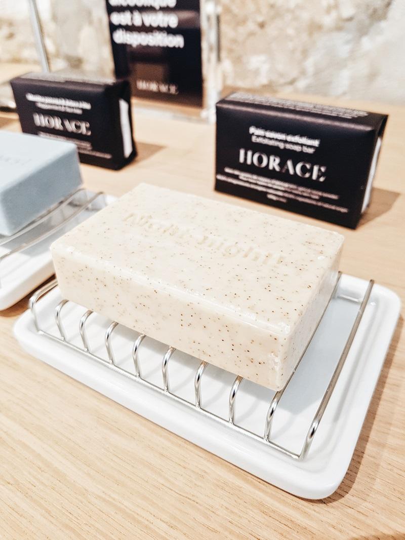 Horace: la marque de cosmétiques pour hommes Pains de savons surgras