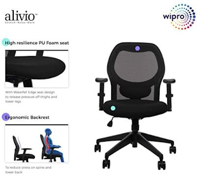 Wipro ergonomic office chair