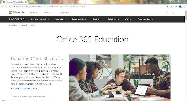 Gratis Office 365 dan Lisensi Microsoft Windows