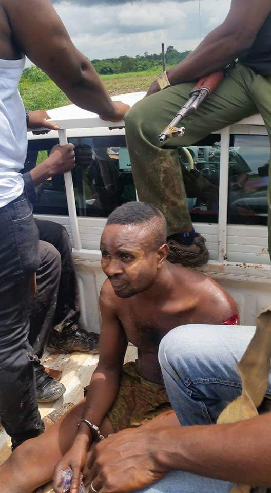 Photos: Security nab heartless kidnappers who collected N5m ransom & left elderly victim to die