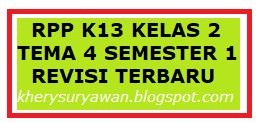File Pendidikan RPP k13 Kelas 2 Tema 4 Semester 1 Revisi Terbaru